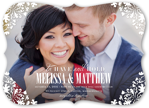 framed beauty wedding invitation - Shutterfly Wedding Invitations