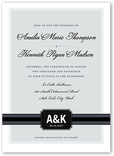 simply meant to be wedding invitation - Shutterfly Wedding Invitations