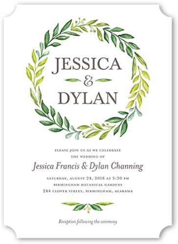 gleeful garden wedding invitation - Garden Wedding Invitations