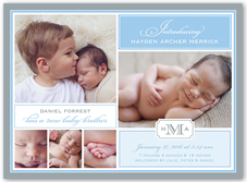Sibling Birth Announcements Shutterfly