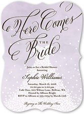bridal shower invitations  wedding shower invitations  shutterfly, invitation samples