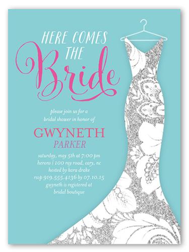 Pearl Paper Bridal Shower Invitations Wedding Shower Invitations