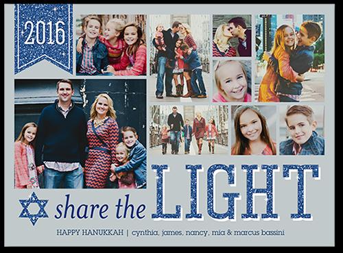 Share The Light Hanukkah Card