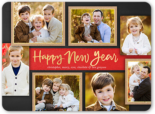 Happy Frames New Year's Card