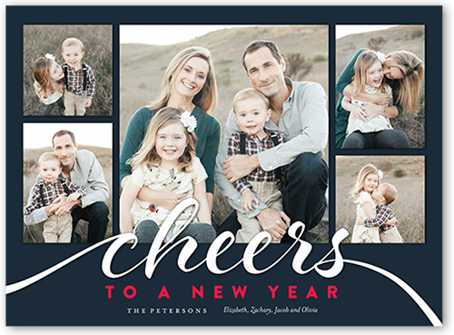 Century Cheers New Year's Card