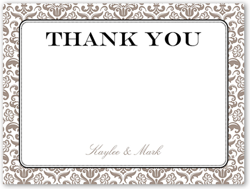 wedding thank you cards personalized thank you notes shutterfly