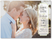 label of love save the date 4x5 flat