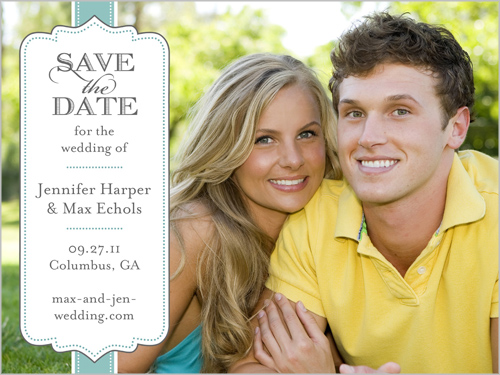 Stamp Of Approval Save The Date