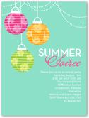 summer soiree summer invitation 4x5 flat