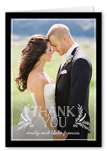 Timeless Gratitude Thank You Card
