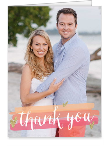 Dreamy Thanks Thank You Card