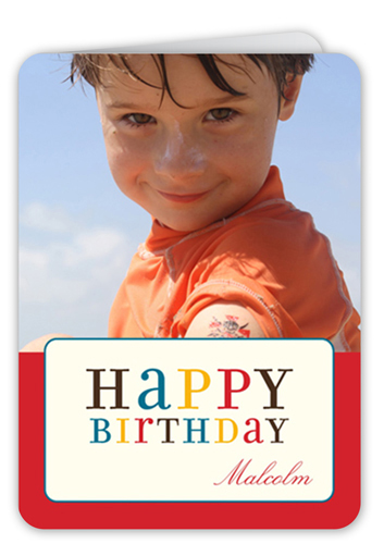 Colorful Wishes Birthday Cards