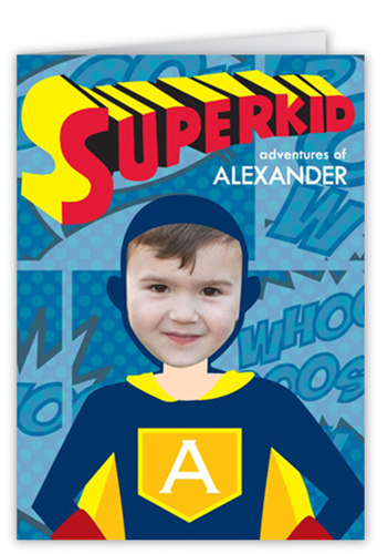 Superkid Adventures Birthday Card