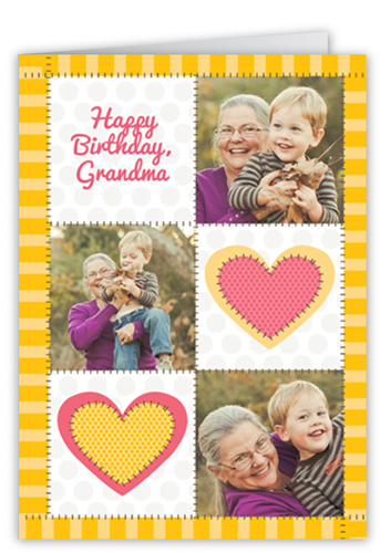 Lovely Patches Birthday Greeting Cards