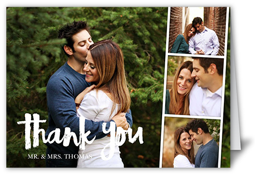 Happy Together Type Thank You Card