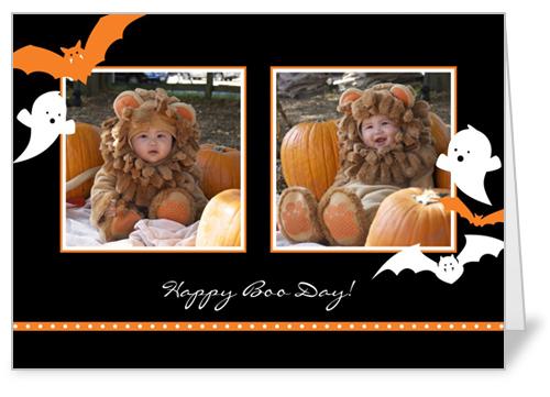 Creepy Critters Halloween Card