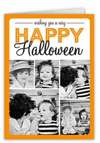Halloween Wish Halloween Card, Square Corners