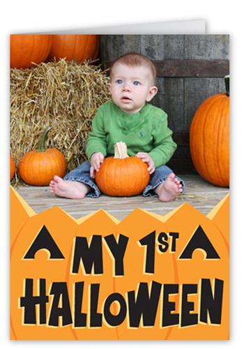 My First Halloween Halloween Card