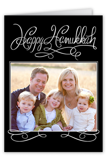 Handwritten Delight Hanukkah Card