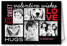sweet love wishes valentines card
