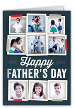 tastefully taped fathers day card