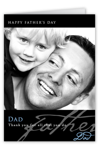 Happy Dad's Day Father's Day Card