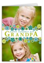 grandpas garden fathers day card