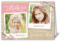 beautiful branches mothers day card