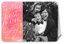 the best mom mothers day card