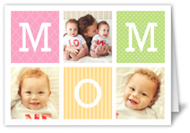 m o m mothers day card