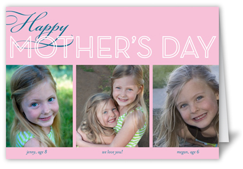 Happy Mom Collage Mother's Day Card