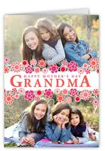 grandmas garden mothers day card