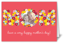 blooming mom mothers day card