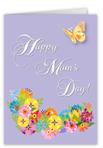 perfect pansies mothers day card