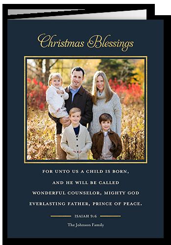 Wonderful Counselor Religious Christmas Card