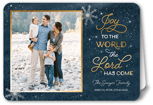 Shutterfly Christmas Cards.Lord Has Come Religious Christmas Cards Shutterfly