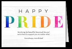 bright pride pride month greeting card
