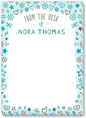 delightful doodle 5x7 notepad
