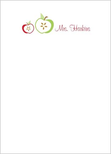 Crisp Apple 5x7 Notepad