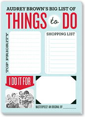To Do List Notepad Personalized Notepad Personalized Stationery Notepad Personalized Notepad Set Custom Notepad ENJOY THE JOURNEY