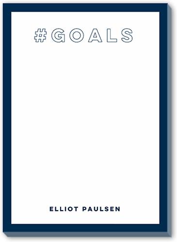 Hashtag Goals 5x7 Notepad