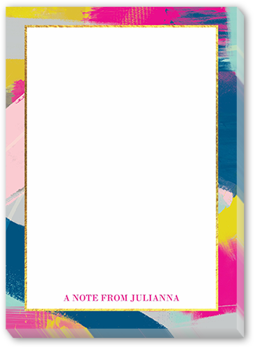 Bold Bordered 5x7 Notepad