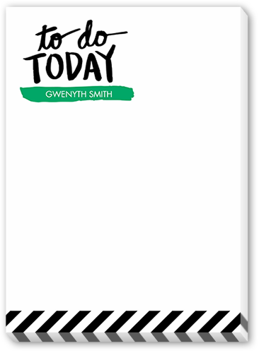 To Do Today 5x7 Notepad