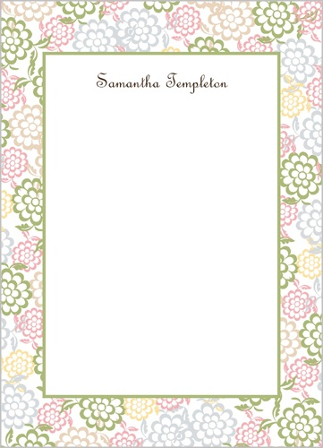 Spring Blooms 5x7 Notepad