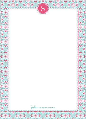 Petite Patterns 5x7 Notepad