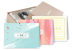 designer - Personalized Folded Note Cards