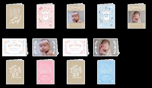 All About Baby Mix & Match Stationery Set