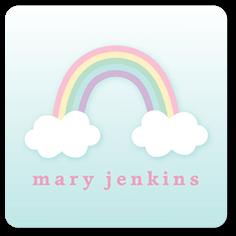 rainbow hearts stickers