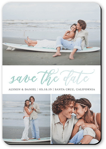 Watercolor Announcement Save The Date