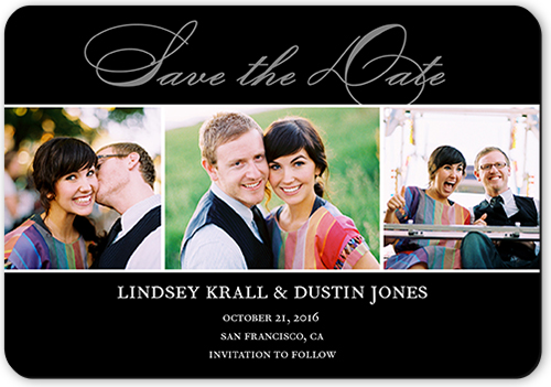 Happiness Script Save The Date